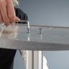 a4 brochure display stand assembly