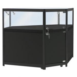Corner Display Counter in Black - CCO1
