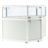 Corner Display Counter in White - CCO1