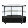 Corner Display Counter in Black - CCO2