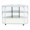 Corner Display Counter in White - CCO2