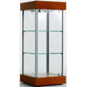 363mm wide Counter Top Glass Display Cabinet - CTW-01