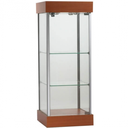 450mm wide Counter Top Glass Display Cabinet - CTW-02