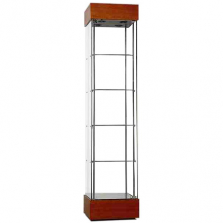 457mm wide Freestanding Display Cabinet in Cherry - F457NR