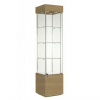 457mm wide Freestanding Display Cabinet in Beech - F457NR-WC
