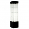457mm wide Freestanding Display Cabinet in Black - F457NR-WC