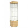 457mm wide Freestanding Display Cabinet in Maple - F457NR-WC
