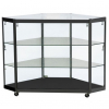 Corner Display Counter in Black - CCO3