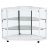 Corner Display Counter in White - CCO3
