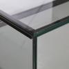 glass display counter - ledc-1500 corner