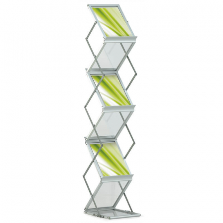media compact a4 literature display stand