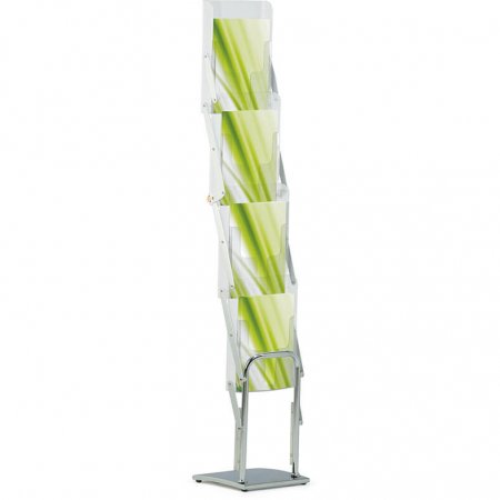 media deluxe a4 literature display stand