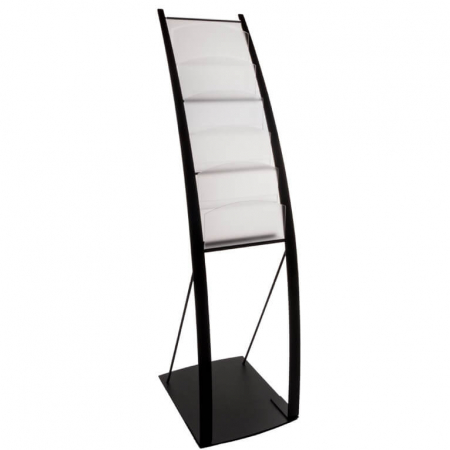onyx a4 literature display stand