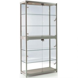 800mm wide Portable Glass Display Case - FS-800