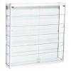 1200mm wide Wall Mounted Display Cabinet in White - WM12-12