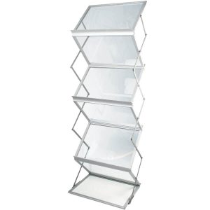 zed up lite a3 literature display stand