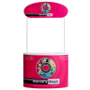 finesse promotional counter with header