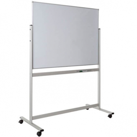 portable magnetic whiteboard including stand
