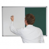 Whiteboard and Pin Board Combination - Dark green