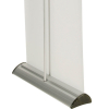 barracuda banner stand - back