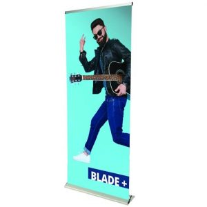 blade plus banner stand