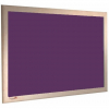 Amethyst - Charles Twite felt notice board with wood frame