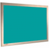 Caribbean - Charles Twite felt notice board with wood frame