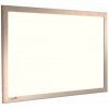 Cream - Charles Twite felt notice board with wood frame