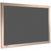 Dark Earth - Charles Twite felt notice board with wood frame