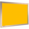 Fiesta Gold - Charles Twite felt notice board with wood frame