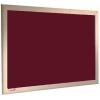 Garnet - Charles Twite felt notice board with wood frame