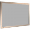 Grey Metal - Charles Twite felt notice board with wood frame