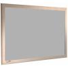 Grey Metal - Charles Twite felt notice board with wood frame