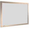 Grey Mist - Charles Twite felt notice board with wood frame