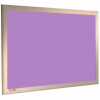 Heather - Charles Twite felt notice board with wood frame