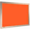 Hot Sahara - Charles Twite felt notice board with wood frame