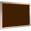 Peat - Charles Twite felt notice board with wood frame