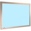Sky - Charles Twite felt notice board with wood frame