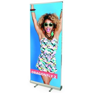 dragonfly 2 banner stand