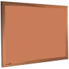 Cinnamon Bark - 2207 - Forbo Nairn pinboard with wood frame