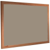 Mushroom Medley - 2208 - Forbo Nairn pinboard with wood frame