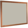 Oyster Shell - 2206 - Forbo Nairn pinboard with wood frame