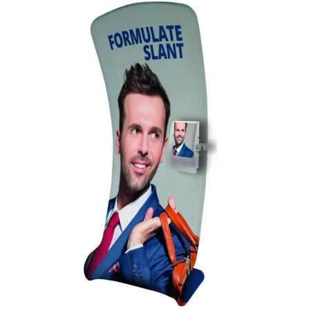 formulate slant banner stand