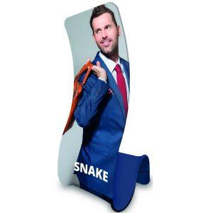 formulate snake banner stand