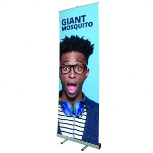 giant mosquito banner stand