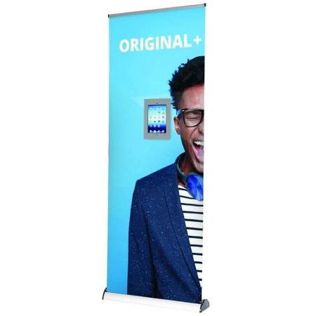 original plus banner stand