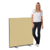 1200 x 1200 woolmix office screen - beige