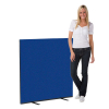 1200 x 1200 woolmix office screen - blue