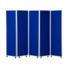 1800mm high 5 panel concertina room divider