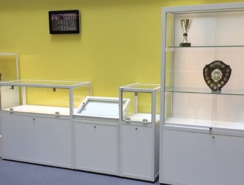 Custom Display Cases for Urswick School